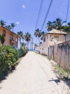 Verso la spiaggia a Las Terrenas