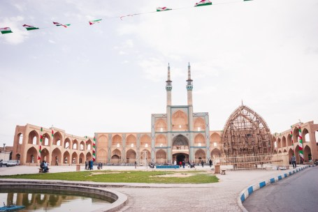 Amir Chakmaq Square in Yazd