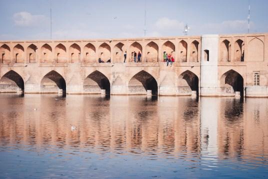 ponte sullo Zayandeh