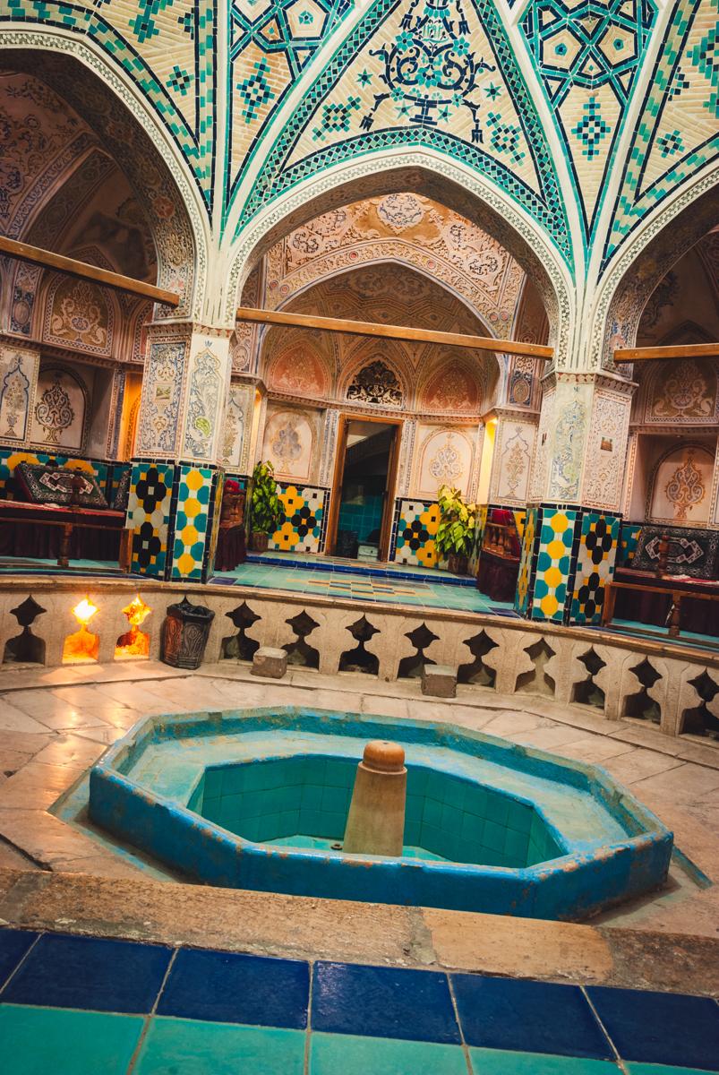 bagno turco di kashan