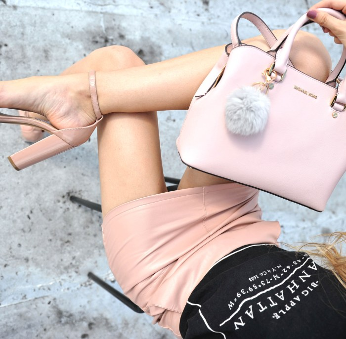 blush pink fashion