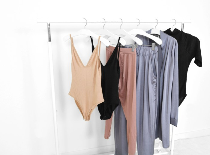 Boohoo clothing rack