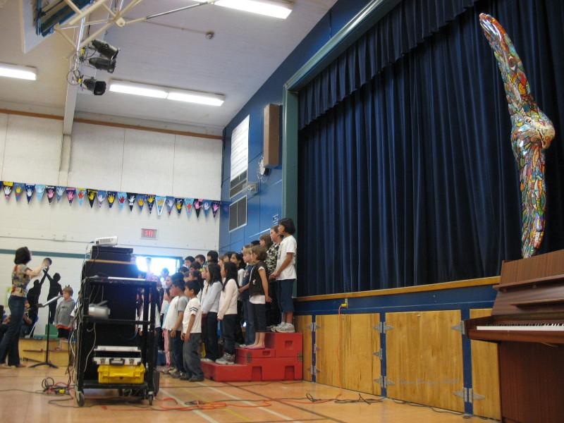 Tiana's Eagle Unveiling at Whiteside