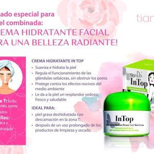 15508 Crema hidratante para la cara que ilumina la piel, tianDe, 50g