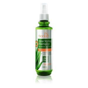 20144 Spray Para el Cabello Con Aloe, tianDe , 200ml, Volumen y Flexibilidad Bajo Control