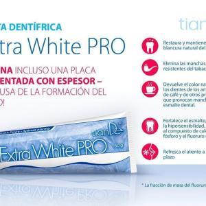 60146 Pasta de Dientes Extra Blanco PRO TianDe 60146, 60 g