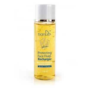 16307 Fluido Facial Regenerador Y Protector, tianDe, Capacidad: 110 ml, Rellene la Piel Con Baterías. Piel Sin Síntomas de Fatiga Y Estrés