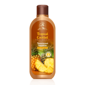 32622 Gel de ducha Tropical Cocktail, tiande , 250g, aroma chispeante de jugosa piña