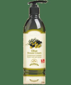 """Крем-гел за душ """"Слънчеви маслини"""", Hainan Tao"""