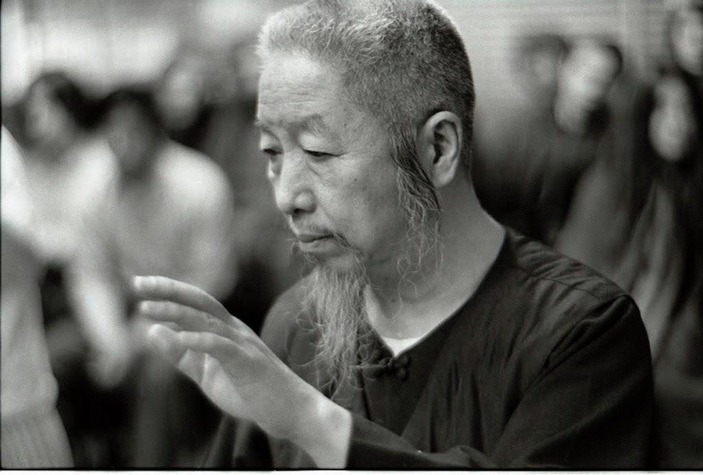 Portrait du professeur Cheng Man Ching par Ken Van Sickle