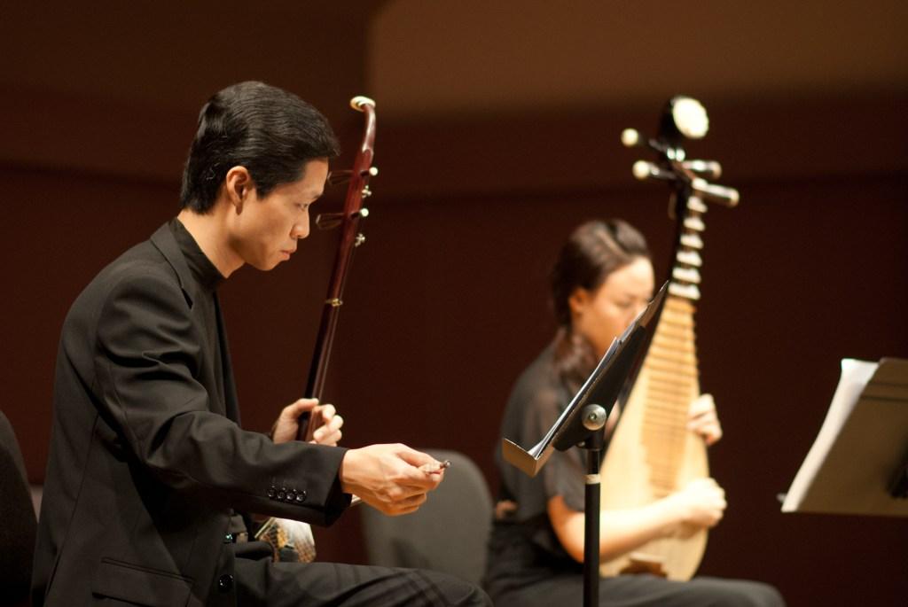 Photographie des musiciens du Chinese Music Virtuosi