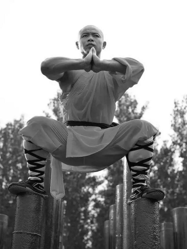 Moine Shaolin, photographie de Tomasz Gudzowaty