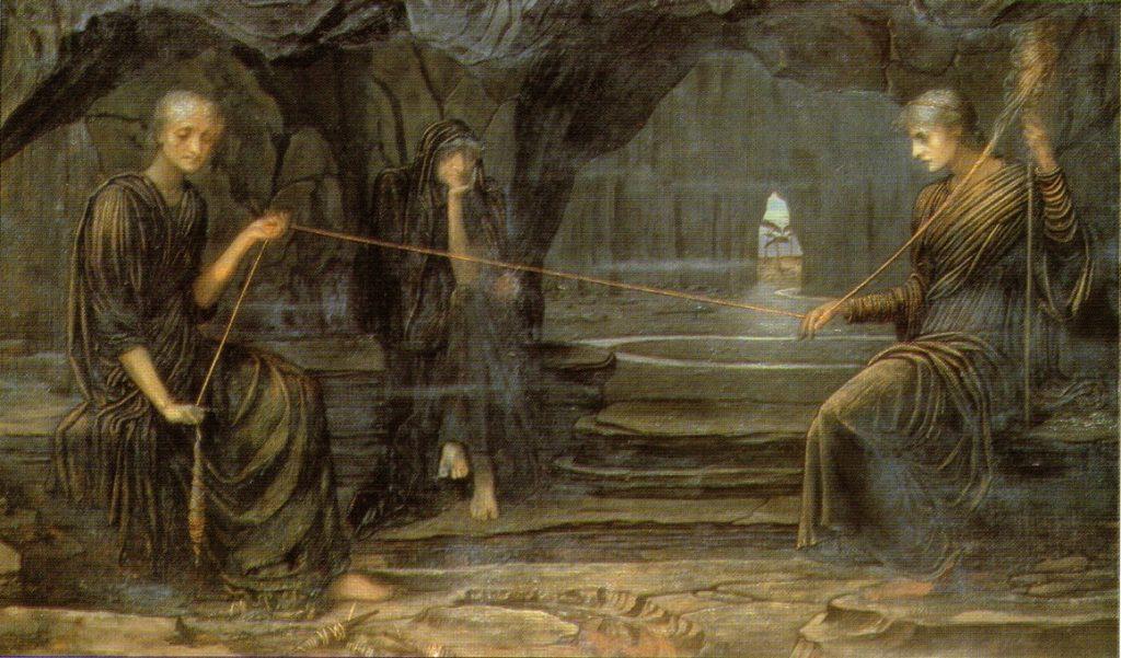 L'Age d'or, huile sur toile de John Melhuish Strudwick