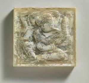 Plaques de ceinture en jade, dynastie Tang (618–907)