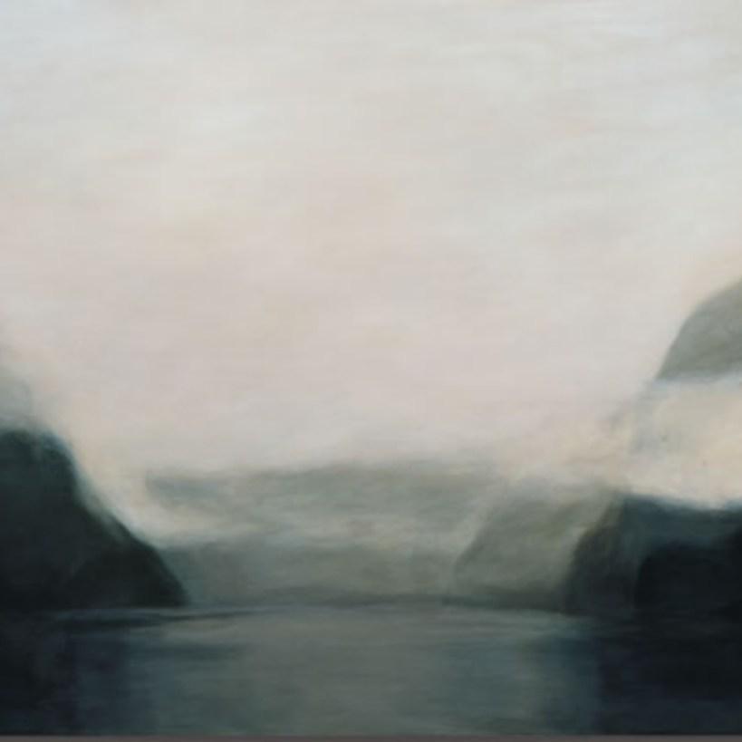 Crique en brume profonde, 2003, Gerda Leenards