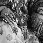 Couvre-ongles en filigrane d'or de Cixi, traditionnellement portés à la cour des Qing.