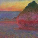 Meule, huile sur toile, 1891, Claude Monet