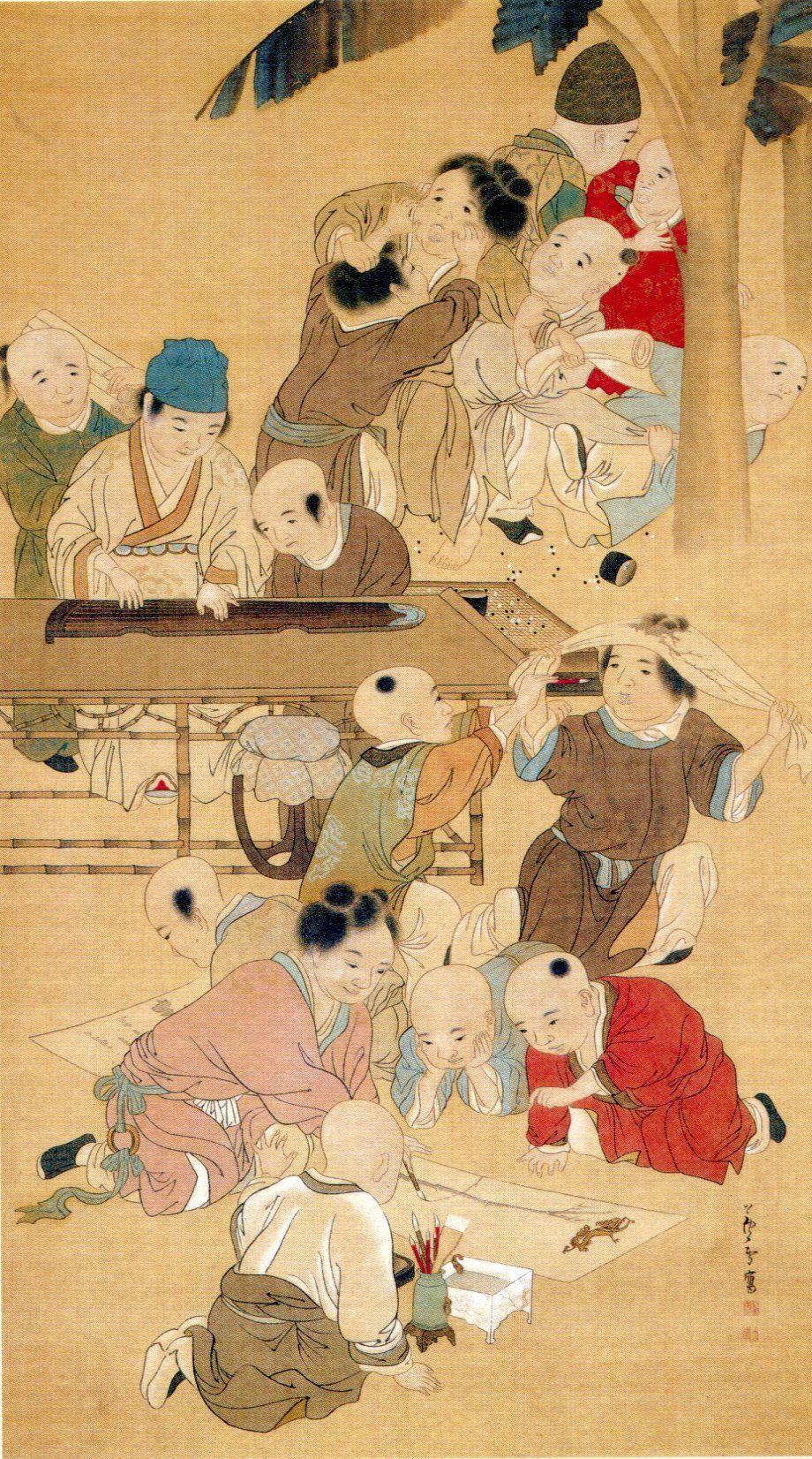Enfants chinois, NagasawaRosetsu