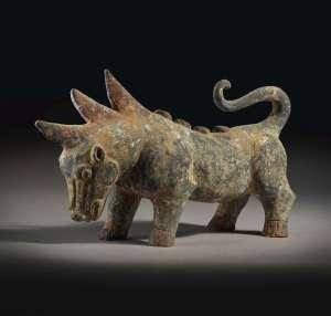 Bête mythique, dynastie Han