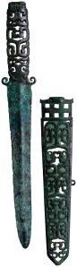 Dague en bronze avec fourreau, VIe –Ve siècle AEC