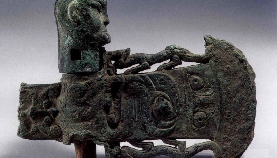 Hallebarde à œil, dynastie Zhou