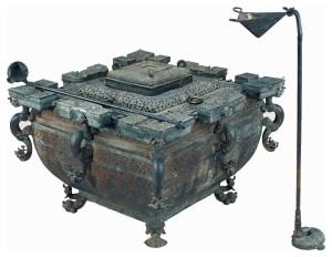 Bronze Jian et Fou, tombe du marquis Yi de Zeng, Zhou orientaux, Royaumes combattants