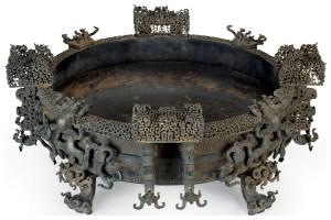 Bronze Pan de Zeng Hou Yi, Zhou orientaux, Royaumes combattants