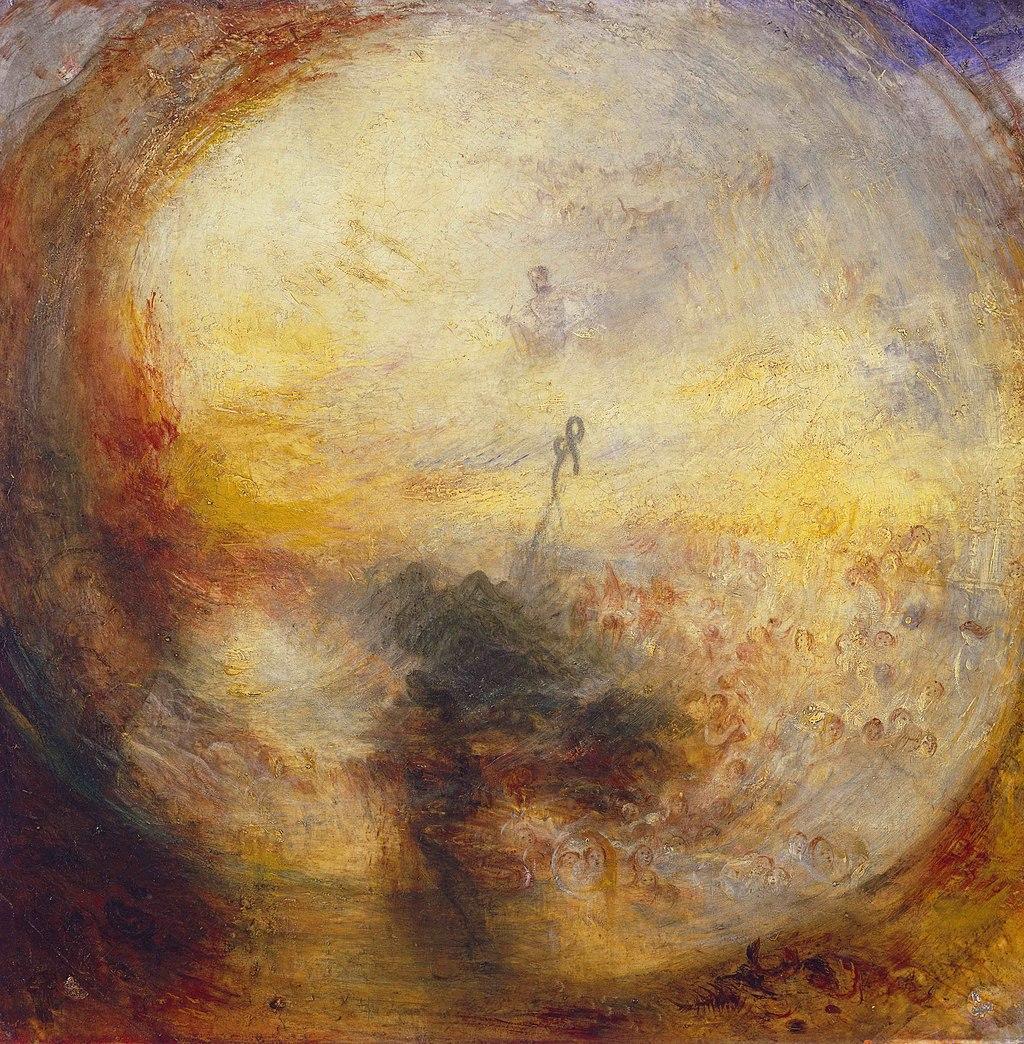 Lumière et couleur, huile sur toile de William Turner