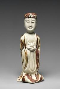 Bœuf du zodiaque en grès émaillé, dynastie Yuan