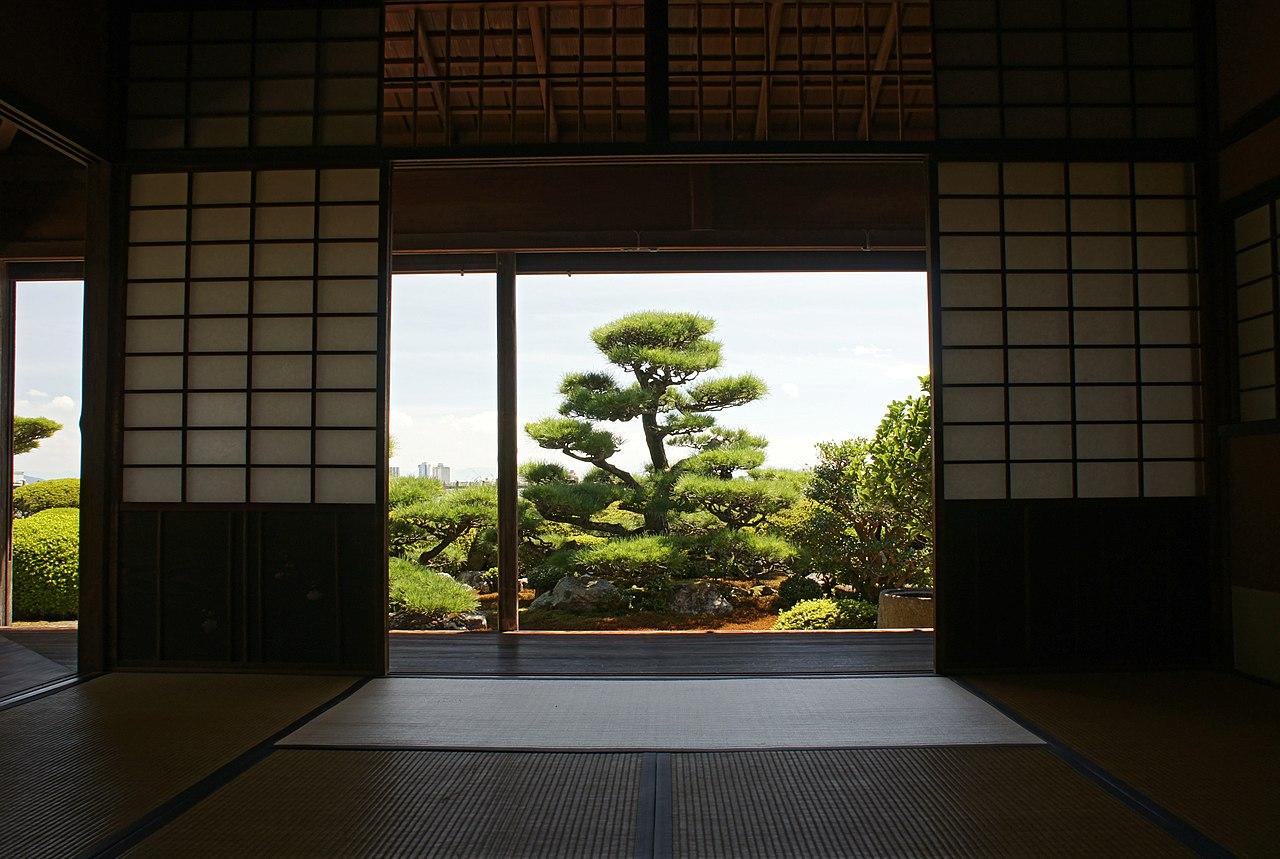 Jardin Isome-shi à Otsu, préfecture de Shiga, Japon.