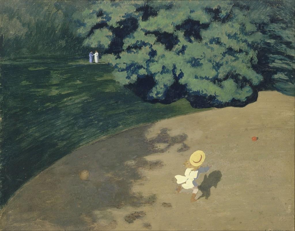 Le Ballon, huile sur toile, 1899, Félix Vallotton