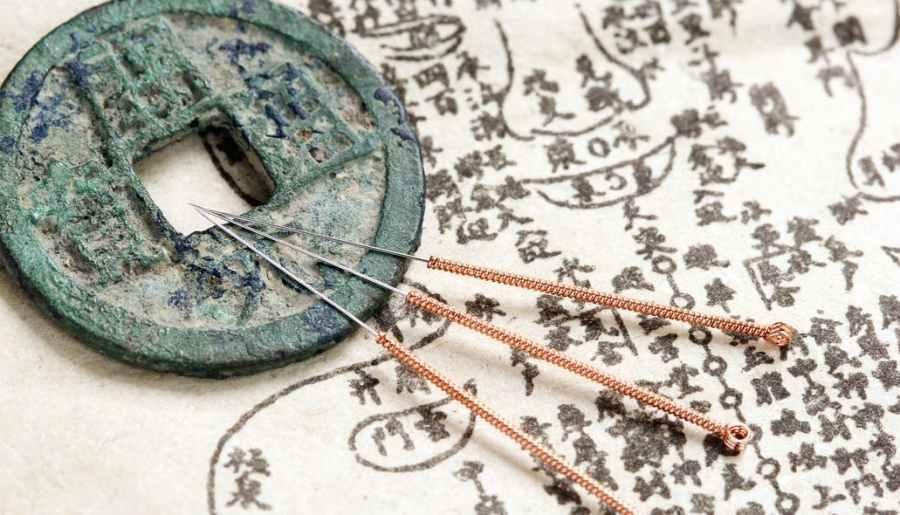 Illustration de la médecine traditionnelle chinoise