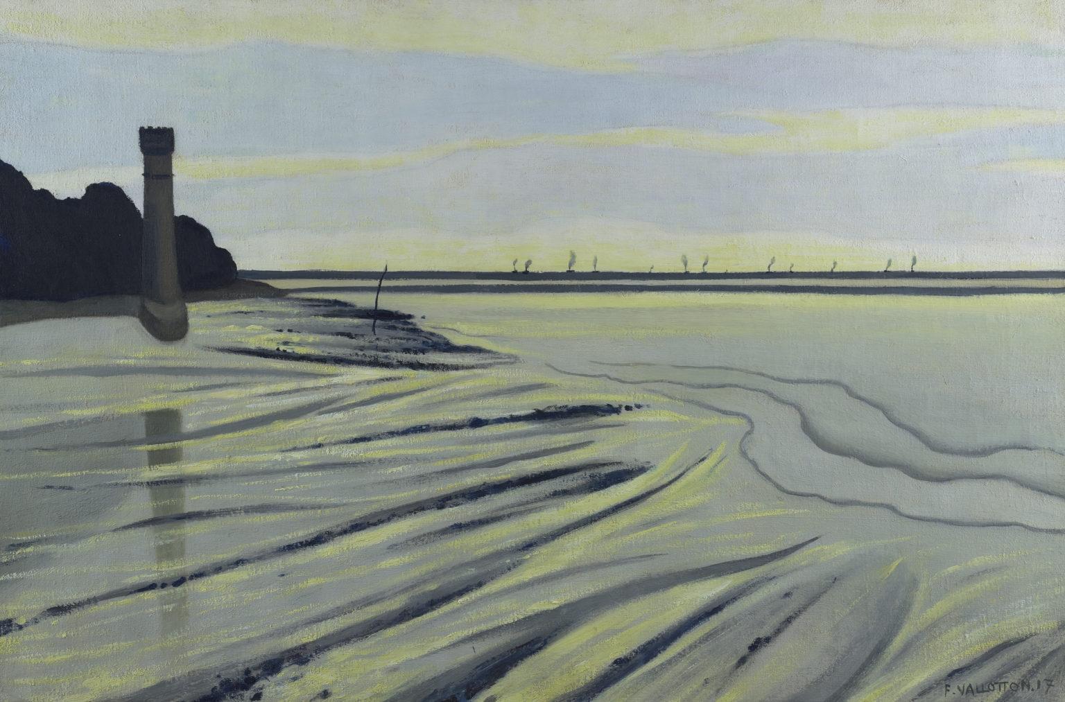 Vases de Honfleur, 1917, huile sur toile, Félix Vallotton (1865–1925)