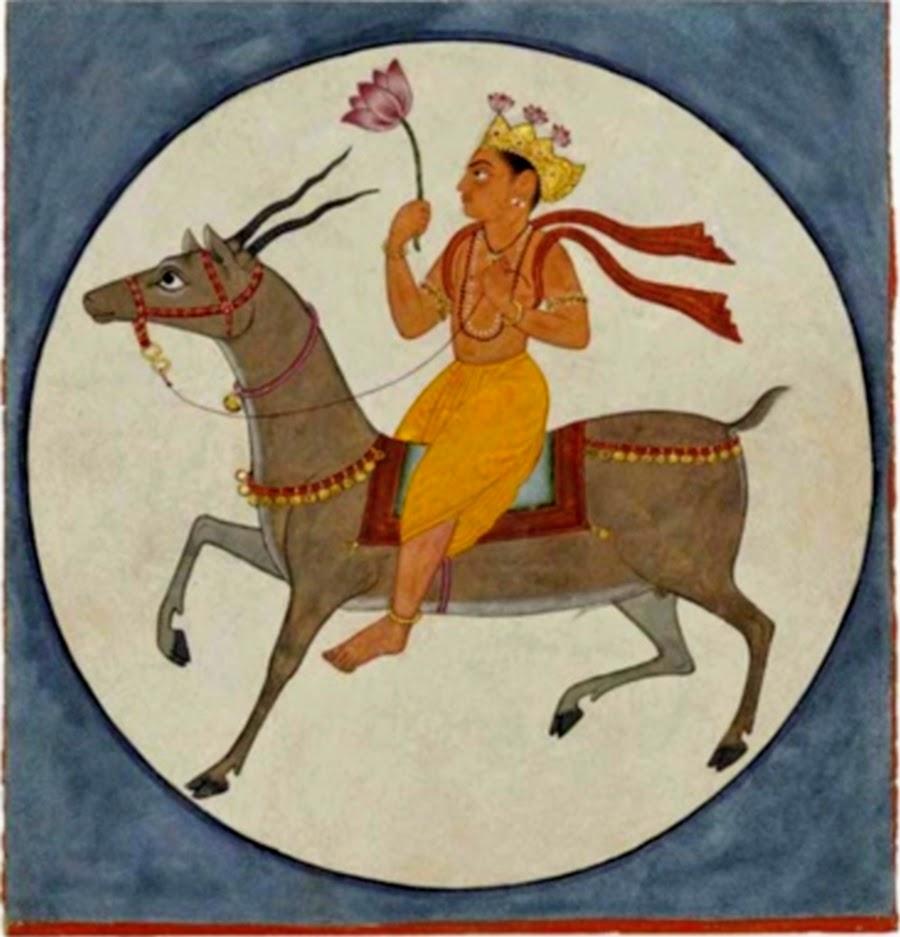 Chandra Ragaputra, illustration d'une série ragamala