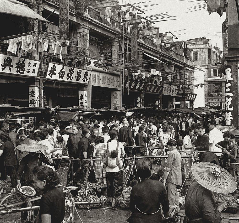 Marché florissant, portrait de Hong Kong par Fan Ho