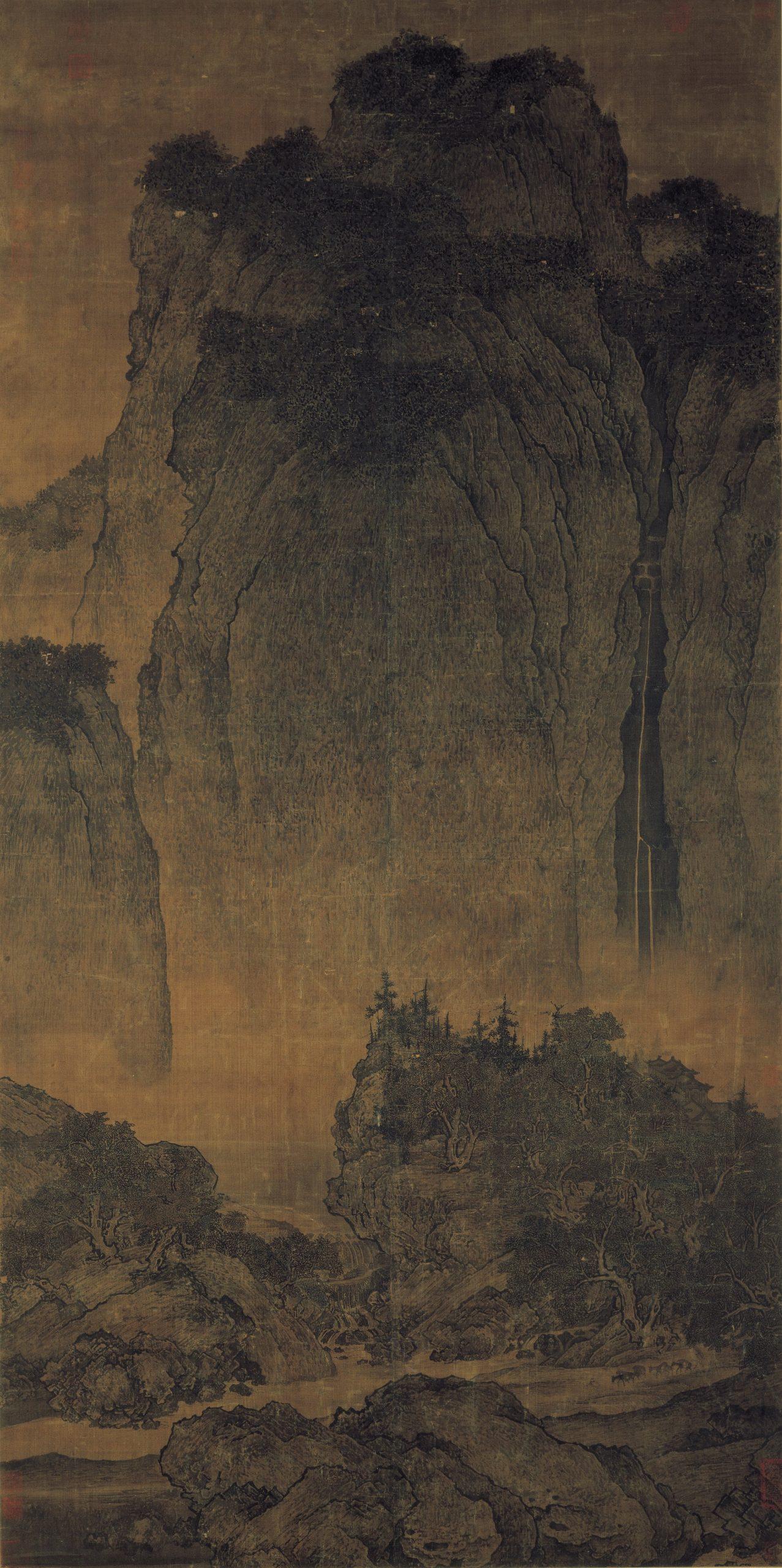 Voyageurs parmi les torrents et les montagnes, Fan Kuan