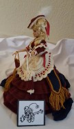 Doll in Victorian Outfit