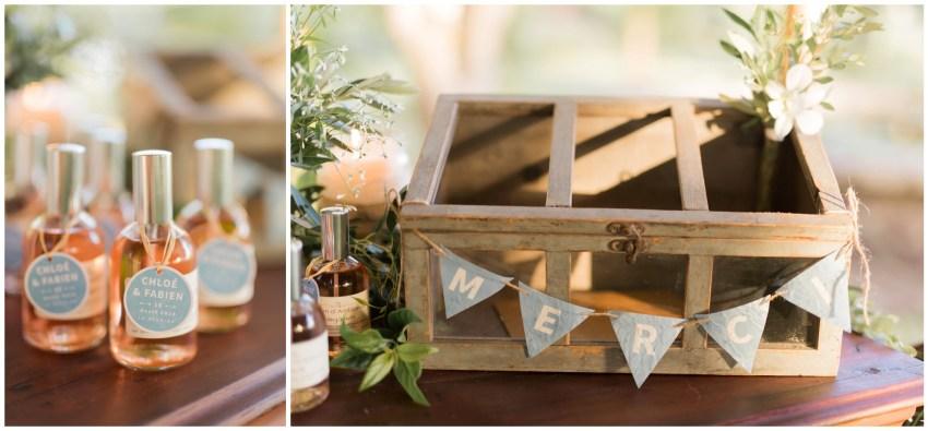 Idée cadeaux d'invités pour une mariage à la Réunion
