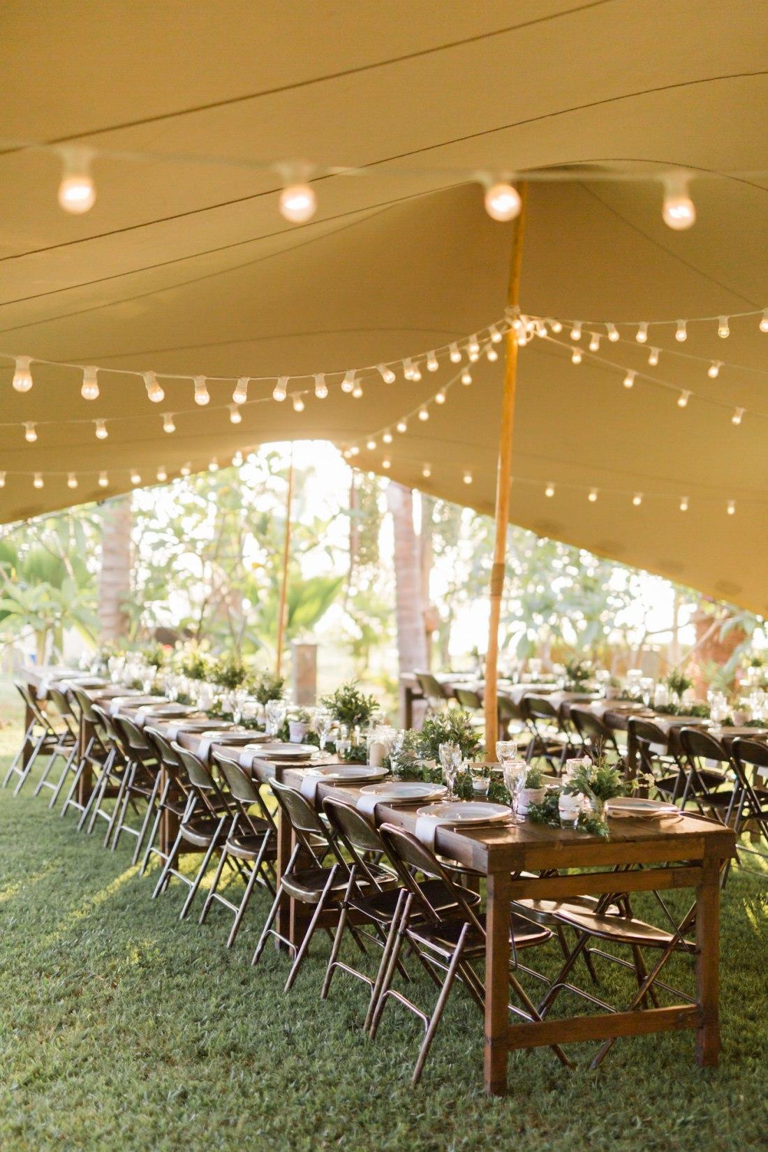 Réception de mariage au jardin d'ama décorée par DeChouettesMots