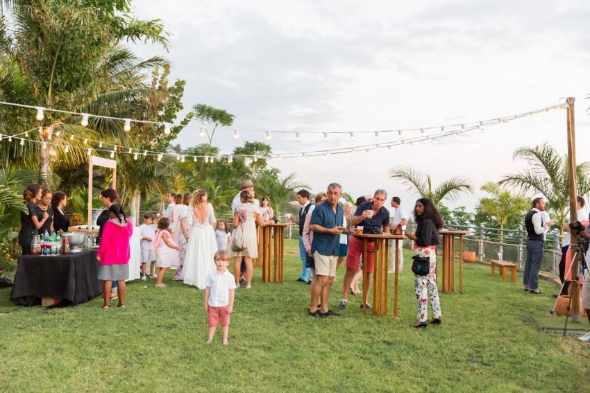 Une réception de mariage aux jardins d'ama à la Réunion