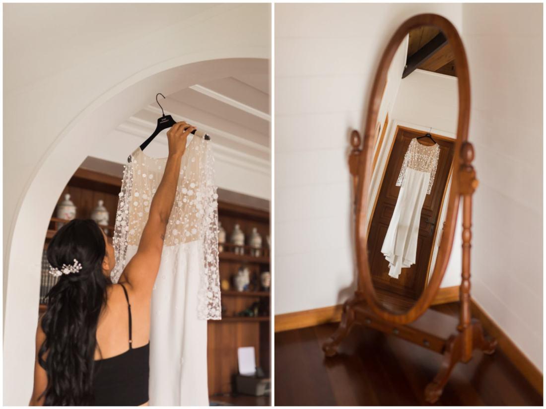 Robe de mariée Rime Arodaky à la Réunion