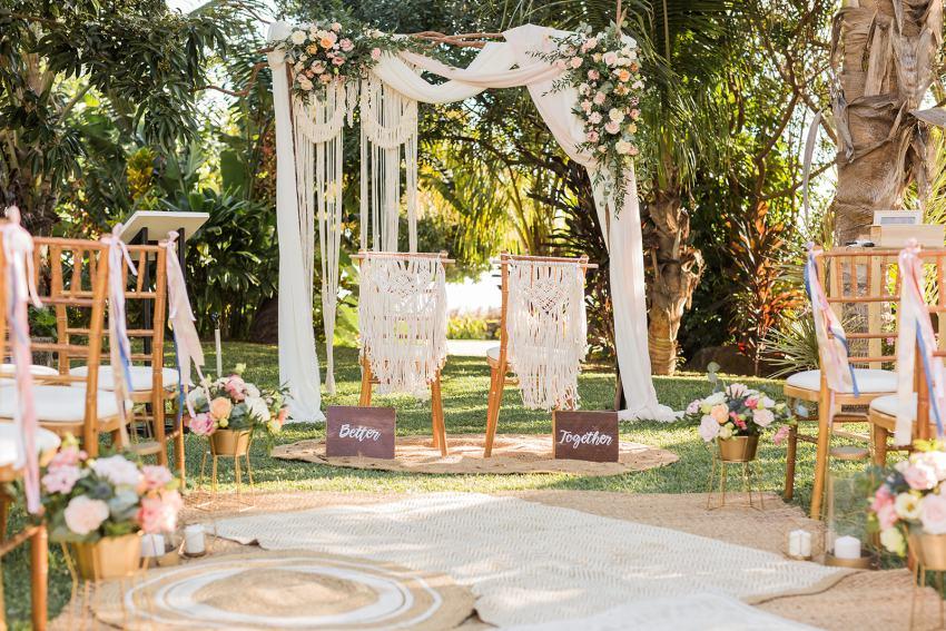 5 raisons de se marier à la Réunion - Cérémonie laïque - mariage - Fanny Tiara