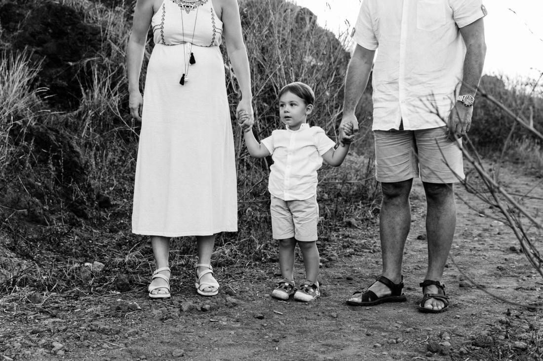 Une séance famille sur l'île de la Réunion
