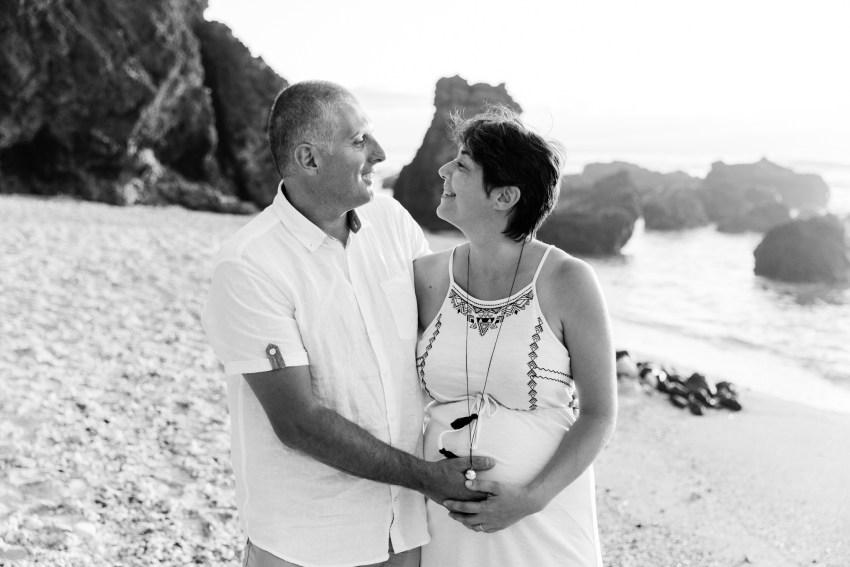 Une séance famille sur une plage de la Réunion