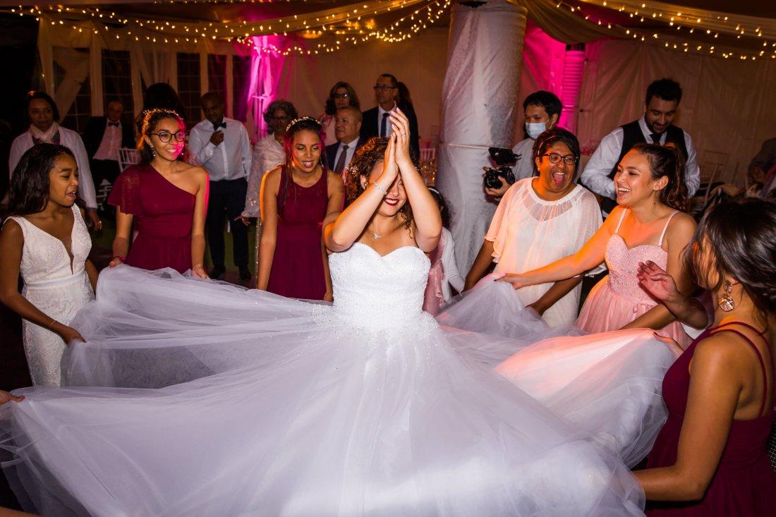 Mariage à la salle de réception du domaine des mille cocos
