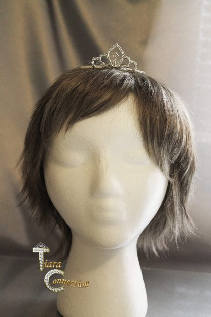 tiara comb on model
