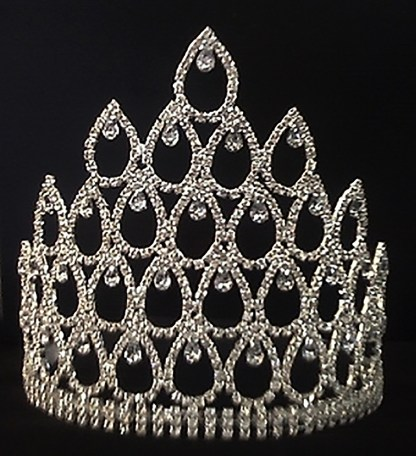 adjustable pageant crown