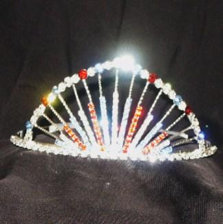 patriotic tiara