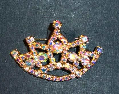 Gold AB Sash Pin
