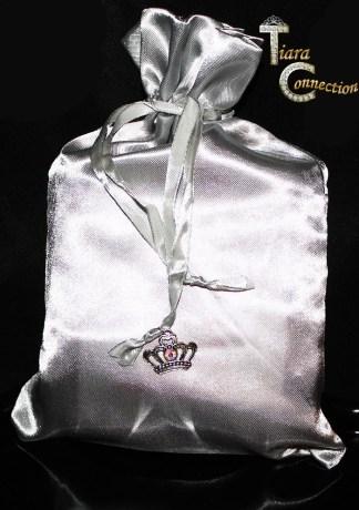 silver sash tote
